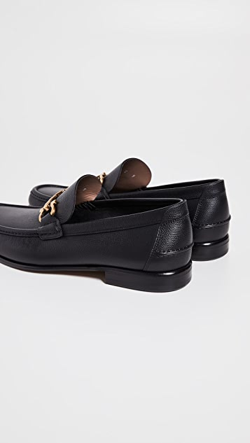 Salvatore Ferragamo Fiordi Double Gancio Loafers