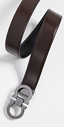 Salvatore Ferragamo - Gancini Buckle Reversible Belt