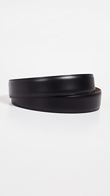 Salvatore Ferragamo Encased Enamel Gancini Buckle Belt
