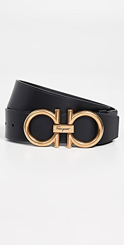 Salvatore Ferragamo - Oversized Gancini Buckle Belt