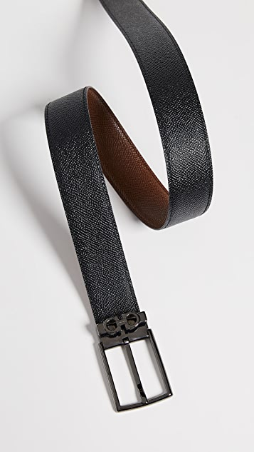 Salvatore Ferragamo Classic Buckle Reversible Belt