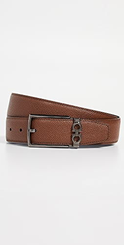 Salvatore Ferragamo - Classic Buckle Reversible Belt