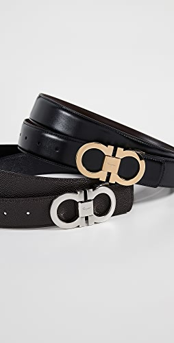 Salvatore Ferragamo - Gancini Buckle Reversible Belt Box Set