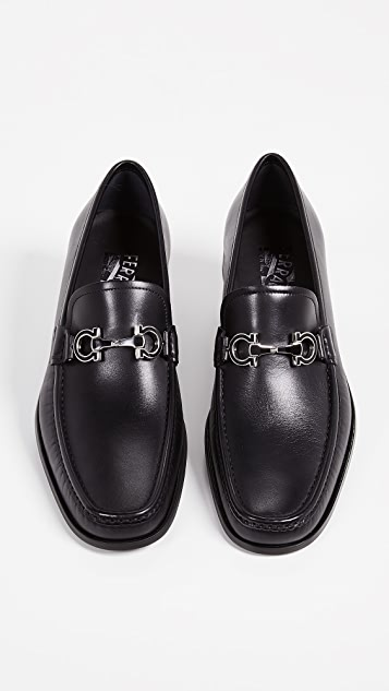 Salvatore Ferragamo Chris Reversible Bit Loafers