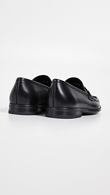 Salvatore Ferragamo Chris Reversible Bit Loafers