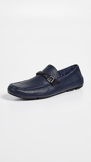 Salvatore Ferragamo Granprix Driver Shoes