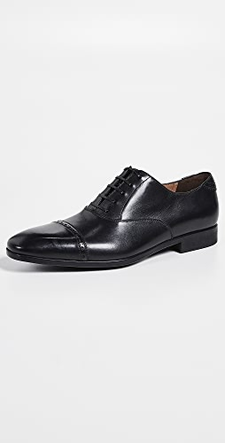 Salvatore Ferragamo - Boston Cap Toe Lace Up Shoes