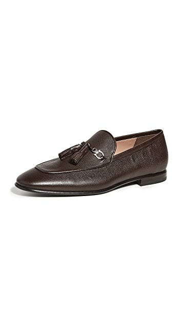Salvatore Ferragamo Ausonia Tassle Loafers