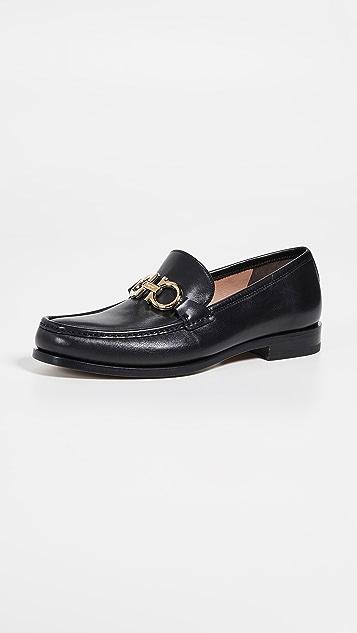 Salvatore Ferragamo Rolo Reversible Bit Loafers