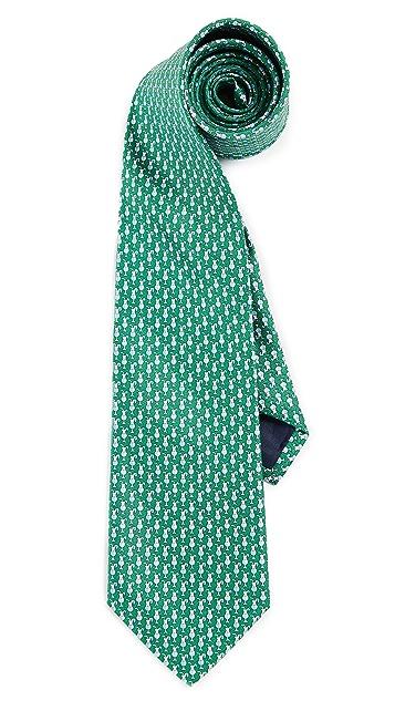 Salvatore Ferragamo Drink Print Tie