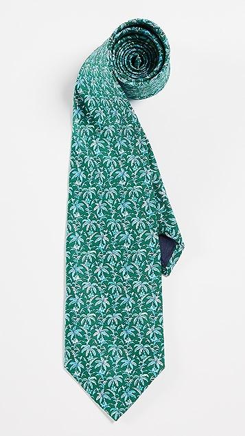 Salvatore Ferragamo Palm Leaf Tie