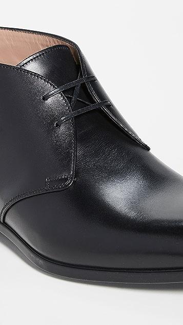 Salvatore Ferragamo Teodoro Dress Chukka Boots