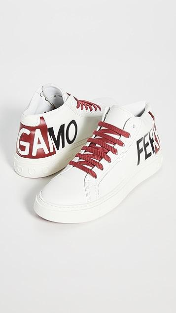 Salvatore Ferragamo Tour Hi-Top Sneakers