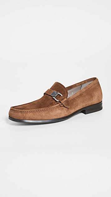 Salvatore Ferragamo Adam Suede Loafers