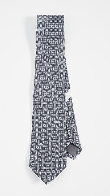 Salvatore Ferragamo Multi Gancio Print Tie