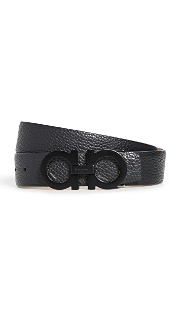 Salvatore Ferragamo Adjustable Gancini Belt