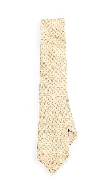 Salvatore Ferragamo Lion Printed Tie