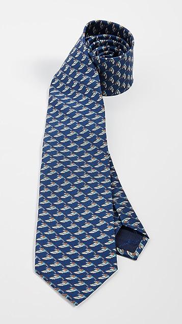 Salvatore Ferragamo Mallard Printed Tie