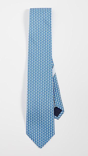 Salvatore Ferragamo Iluna Printed Tie
