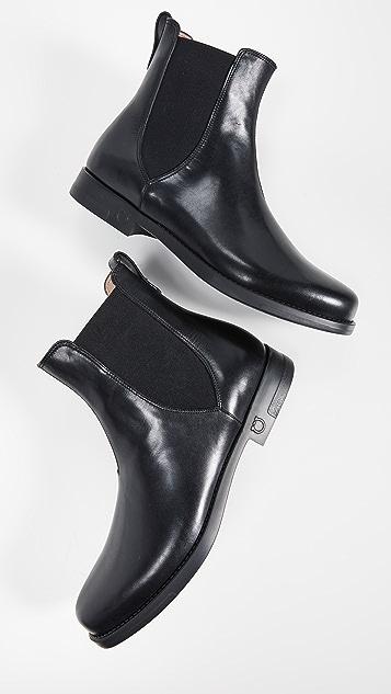 Salvatore Ferragamo Tom Chelsea Boots