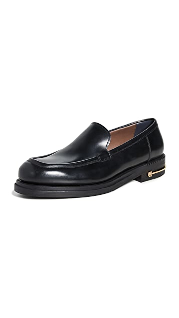 Salvatore Ferragamo Teeth 3 Gancio Sole Runway Loafers