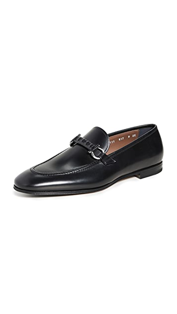 Salvatore Ferragamo Tai Formal Loafers with Gancio Bit