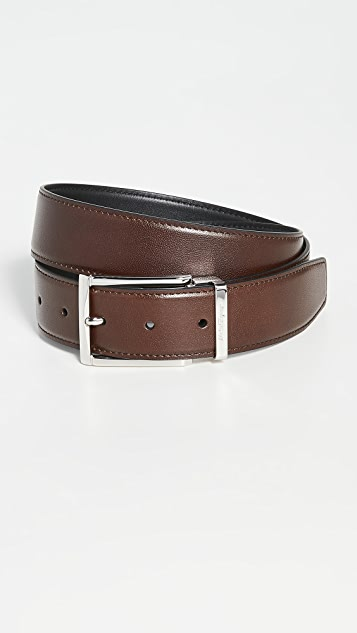 Salvatore Ferragamo Everton Adjustable & Reversible Belt