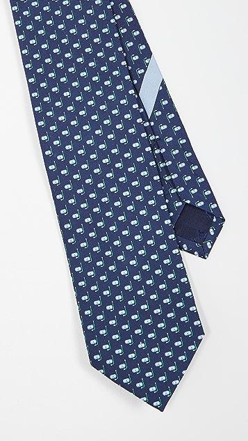 Salvatore Ferragamo Snorkel Print Tie