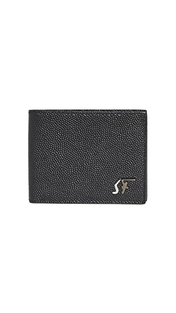 Salvatore Ferragamo Signature Leather Wallet