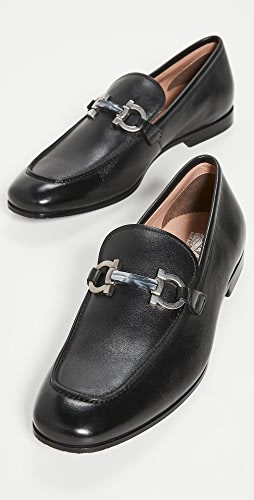 Salvatore Ferragamo - Shepard Leather Loafers