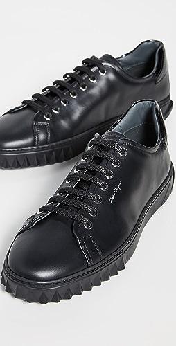 Salvatore Ferragamo - Cube Sneakers