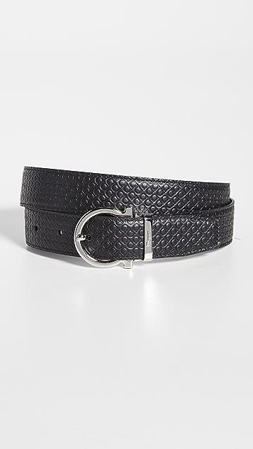 Salvatore Ferragamo Classic Buckle Reversible Belt