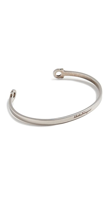 Salvatore Ferragamo Large Cuff Bracelet
