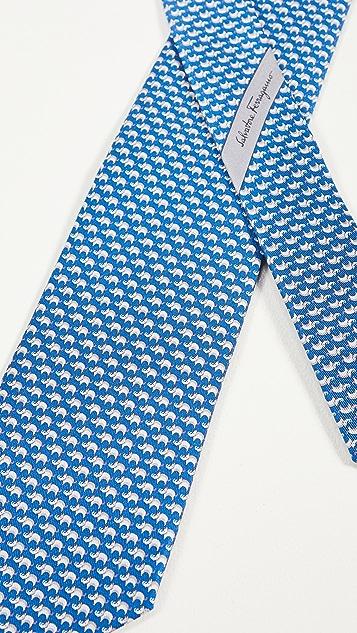 Salvatore Ferragamo Marlon Printed Tie