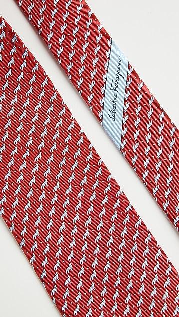 Salvatore Ferragamo Moon Printed Tie