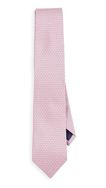 Salvatore Ferragamo Maggie Printed Tie