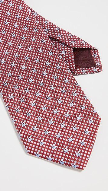Salvatore Ferragamo Matt Printed Tie