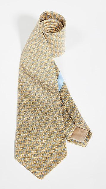Salvatore Ferragamo Mondo Printed Tie