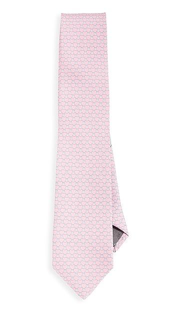 Salvatore Ferragamo Hippo Printed Tie