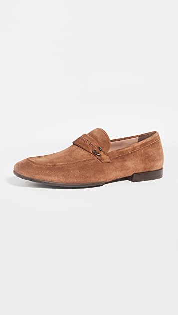 Salvatore Ferragamo Raion Ornamented Loafers