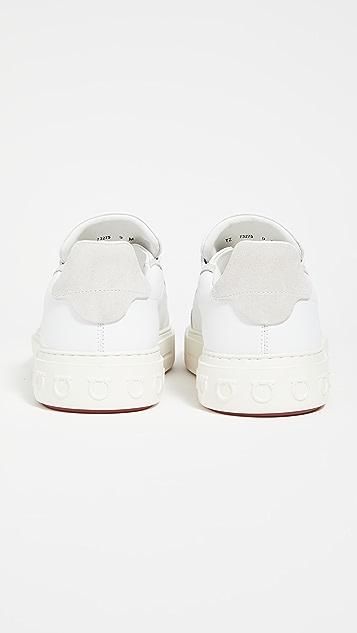Salvatore Ferragamo Borg Sneakers