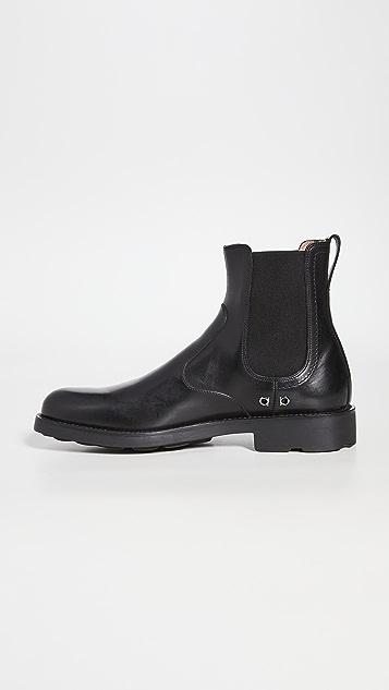 Salvatore Ferragamo Roomie Boots
