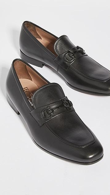 Salvatore Ferragamo Reno Ornamented Loafers
