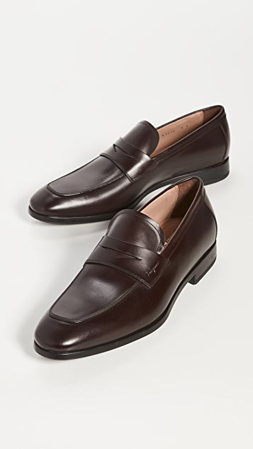 Salvatore Ferragamo Recly Crosspiece Loafers