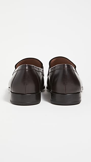 Salvatore Ferragamo Ree Oranamented Loafers