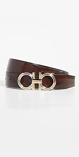 Salvatore Ferragamo - Classic Signature Double Adjustable Belt