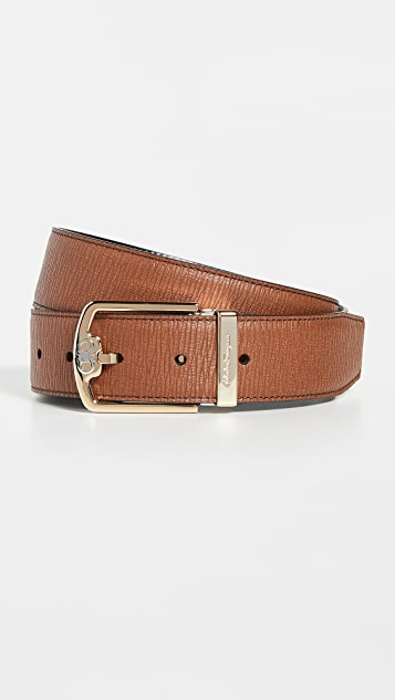 Salvatore Ferragamo Classic Double Adjustable Belt