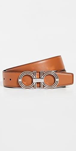 Salvatore Ferragamo - Classic Signature Double Adjustable Belt