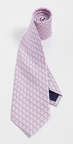 Salvatore Ferragamo - Zebra Print Tie