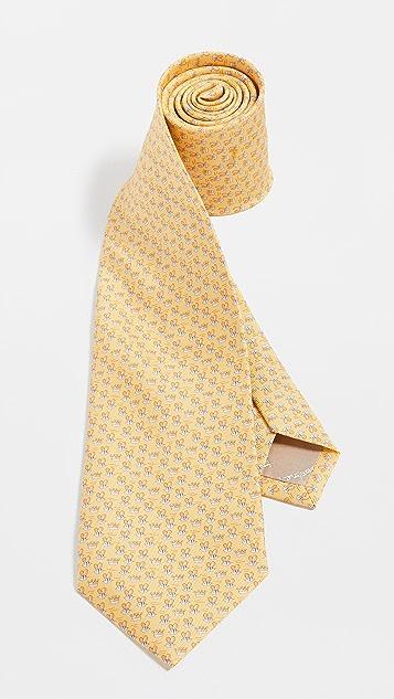 Salvatore Ferragamo Bee Print Tie